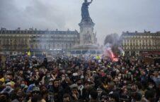 مظاهره فرانسه 12 226x145 - تصاویر/ مظاهره مردم در شهرهای مختلف فرانسه