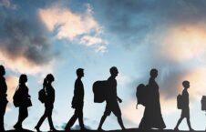 مهاجرت 226x145 - تأثیر بحران شیوع کرونا بر مهاجرت بین المللی در سال ۲۰۲۰ عیسوی