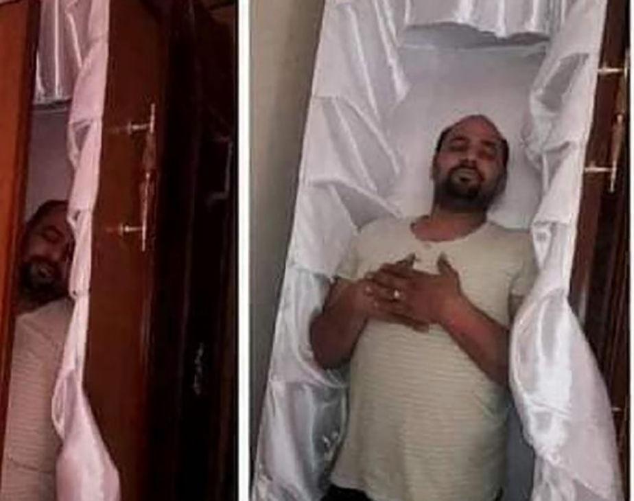 نور رشاد - پیشبینی عجیب یک مرد مصری درباره پایان عمرش + تصویر