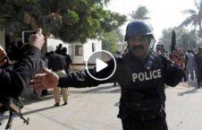 ویدیو پولیس پاکستان مهاجرین افغان 226x145 - ویدیویی دردآور از برخورد غیر انسانی پولیس پاکستان با مهاجرین افغان