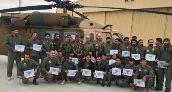پیلوتهای افغان 550x295 - نقشه شوم حامیان طالبان برای هدفگیری پیلوتهای افغان