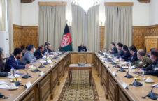 اشرف غنی شورای امنیت ملی 226x145 - برگزاری جلسه اختصاصی شورای امنیت ملی در ارگ ریاست جمهوری