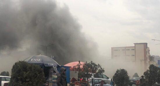 انفجار کابل 550x295 - آخرین خبرها از انفجار در ناحیه چهارم شهر کابل
