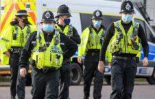 بریتانیا پولیس 226x145 - برخورد پولیس بریتانیا با ناقضان مقررات کرونایی