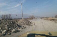 تخریب پل طالبان 1 226x145 - تصاویر/ تخریب پروژه های عام المنفعه در ولایت بغلان