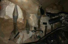 دیپوی مهمات طالبان هلمند 1 226x145 - تصاویر/ کشف و ضبط دو دیپوی مهمات طالبان در ولایت هلمند
