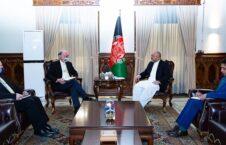 محمد حنیف اتمر راس ویلسون 1 226x145 - دیدار وزیر امور خارجه با شارژدافیر ایالات متحده امریکا در کابل