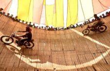 موترسایکل بنگله دیش 3 226x145 - تصاویر/ روی دیوار مرگ