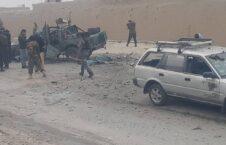 موتر پولیس انفجار 226x145 - انفجار بالای یک موتر پولیس در کابل