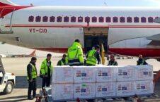 واکسین هند 6 226x145 - تصاویر/ نخستین محموله واکسینهای کمک شده از سوی هند به کابل رسید