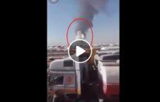 ویدیو شروع آتش گمرک اسلام قلعه 226x145 - ویدیو/ لحظه شروع آتش سوزی در گمرک اسلام قلعه