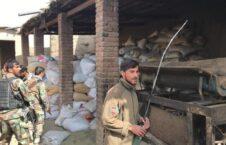 کارخانه مواد مخدر 3 226x145 - تصاویر/ تخریب کارخانه بزرگ تولید مواد مخدر طالبان در ولایت ننگرهار