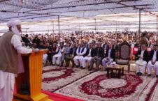 اشرف غنی 226x145 - رییس جمهور غنی: افغانستان برای گدایی دست دراز نمی کند