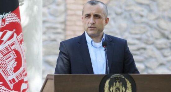 امرالله صالح 550x295 - واکنش امرالله صالح به شایعه تلاش زلمی خلیلزاد برای ایجاد حکومت مشارکتی در افغانستان