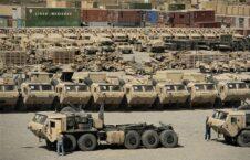 امریکا موتر 226x145 - آغاز برنامهٔ انتقال تجهیزات نظامیان امریکایی از افغانستان
