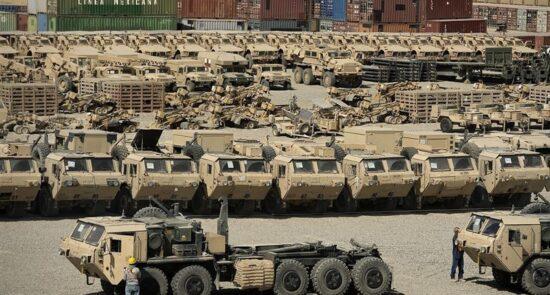 امریکا موتر 550x295 - سرنوشت تجهیزات نظامی امریکا پیش از خروج از افغانستان