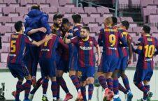 بارسلونا 226x145 - صعود تیم فوتبال بارسلونا به مرحله نهایی جام حذفی هسپانیا