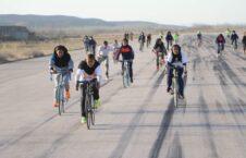 بایسکل رانی بانوان فاریاب 1 226x145 - تصاویر/ راه اندازی مسابقه بایسکل رانی بانوان در فاریاب