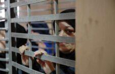 زندان دامون 226x145 - مظاهره باشنده گان فلسطینی در مقابل زندان دامون
