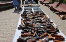 سلاح مهمات ننگرهار 2 226x145 - تصاویر/ کشف و ضبط یک دیپو بزرگ سلاح و مهمات در ولایت ننگرهار