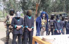 طالبان غازی آباد 3 226x145 - تصاویر/ دستگیر شدن رییس زندان طالبان با پوشش زنانه