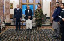اشرف غنی دگرجنرال تورستن پاشواتا 226x145 - قدردانی رییس جمهور غنی از خدمات رییس ارکان ماموریت حمایت قاطع در افغانستان