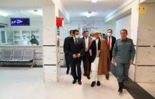 اشرف غنی شفاخانه 1 226x145 - تصاویر/ بازدید رییس جمهور غنی از شفاخانه دو صد بستر پولیس ملی