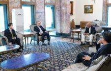 اشرف غنی وانگ یو 226x145 - دیدار رییس جمهور غنی با سفیر جمهوری خلق چین