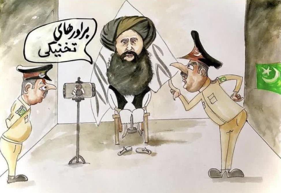 برادران تخنیکی طالبان - کاریکاتور/ برادران تخنیکی طالبان!