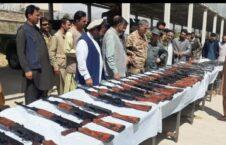 سلاح مهمات طالبان پروان 2 226x145 - تصاویر/ کشف و ضبط سلاح و مهمات طالبان توسط پولیس پروان