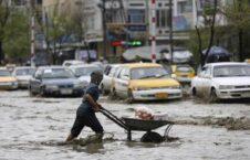 سیلاب 226x145 - هشدار از احتمال وقوع برفباری و بارندگی در برخی از ولایات