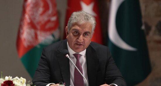 شاه محمود قریشی 550x295 - هشدار شاه محمود قریشی درباره ساخت پایگاه های نظامی خارجی در پاکستان