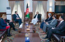 محمد حنیف اتمر استفانو پونته کورو 226x145 - استقبال وزیر امور خارجه از حمایت ناتو از پروسهٔ صلح افغانستان