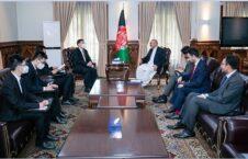 محمد حنیف اتمر وانگ یو 226x145 - تاکید وزیر امور خارجه بر گسترش همکاری ها میان افغانستان و چین