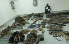 مخفیگاه سلاح و مهمات بلخ 1 226x145 - تصاویر/ کشف یک مخفیگاه سلاح و مهمات تروریستان در ولایت بلخ