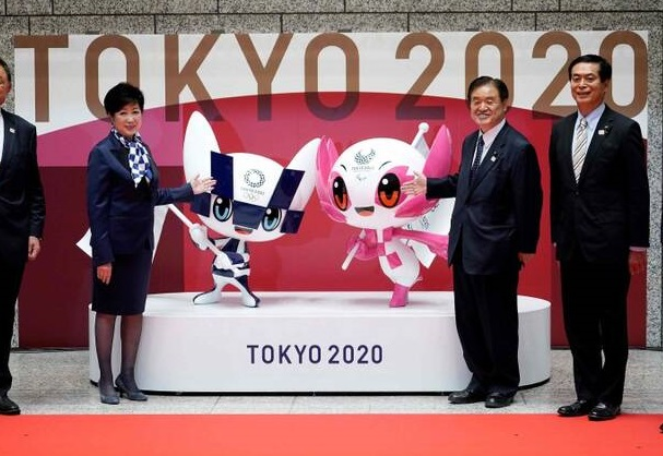 نماد بازیهای المپیک  - تصویر/ رونمایی از نماد بازیهای المپیک ۲۰۲۰