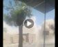 ویدیو/ لحظه انفجار یک پوسته پولیس در ولسوالی شیندند هرات