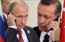 پوتین اردوغان 226x145 - گفتگوی تلیفونی روسای جمهور ترکیه و روسیه