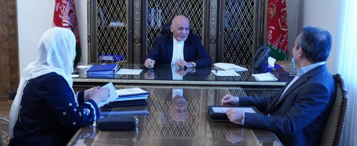 گزارش پیشرفت اصلاحات در وزارت معارف - ارائه گزارش پیشرفت اصلاحات در وزارت معارف به رییس جمهور غنی