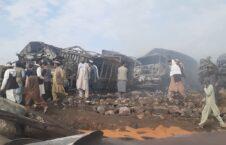 آتشسوزی شکردره 6 226x145 - آتشسوزی در ولسوالی شکردرۀ کابل به روایت تصاویر