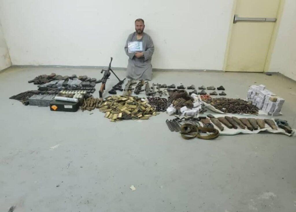 اسلحه مهمات بلخ 1024x735 - تصویر/ کشف و ضبط مقدار زیادی اسلحه و مهمات در ولایت بلخ