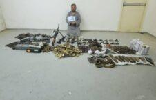 اسلحه مهمات بلخ 226x145 - تصویر/ کشف و ضبط مقدار زیادی اسلحه و مهمات در ولایت بلخ