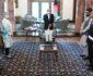 تفویض مدال دولتی به معاون قوماندانی ماموریت حمایت قاطع در افغانستان
