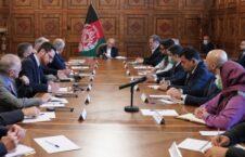 اشرف غنی زلمی خلیلزاد 226x145 - دیدار رییس جمهور غنی با نمایندۀ خاص امریکا در خصوص صلح افغانستان