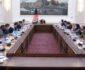 نشست رییس جمهور با مسوولین وزارت صحت عامه با موضوع مهار ویروس کرونا
