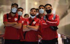 تیم ملی فوتبال قطر 3 226x145 - تیم ملی فوتبال وارد قطر شد + تصاویر