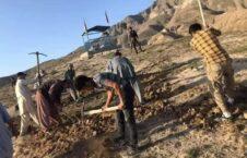 خاکسپاری مکتب سیدالشهدا 1 226x145 - تصاویر/ مراسم خاکسپاری قربانیان جنایت تروریستی در غرب کابل