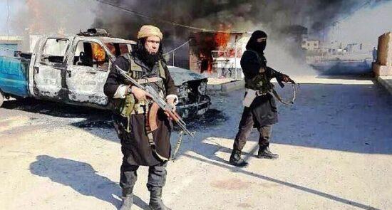 داعش 550x295 - افزایش نگرانی ها از گسترش تهدیدات داعش در شهرهای مختلف عراق