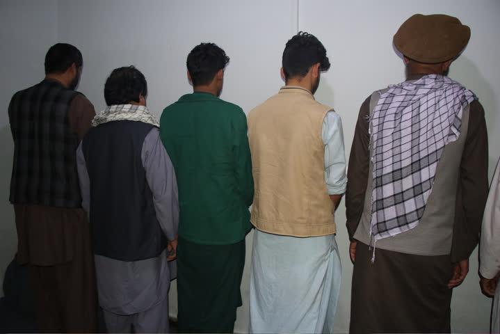 مجرم کندز - تصویر/ بازداشت بیش از یکصد مجرم طی دو ماه گذشته در ولایت کندز