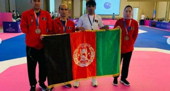 معلول ورزشکار پارا المپیک اردن 550x295 - درخشش ورزشکاران معلول افغان در مسابقات مقدماتی پارا المپیک